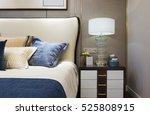 interior of modern bedroom | Shutterstock . vector #525808915