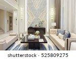 interior of modern living room | Shutterstock . vector #525809275