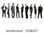 young attractive business... | Shutterstock . vector #5258227