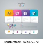 infographic design vector and... | Shutterstock .eps vector #525872872