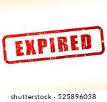 illustration of expired stamp... | Shutterstock .eps vector #525896038