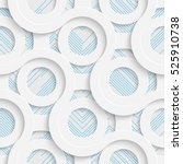 seamless wrapping pattern.... | Shutterstock .eps vector #525910738