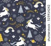 christmas seamless ...   Shutterstock .eps vector #525914242