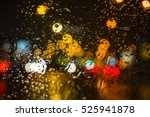 wet the window with the... | Shutterstock . vector #525941878