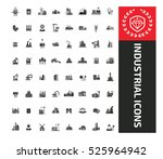 industry icons design clean... | Shutterstock .eps vector #525964942