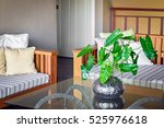 beautiful decor in living room... | Shutterstock . vector #525976618