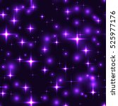 Superb Purple Stars Dark...