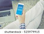 customer satisfaction concept... | Shutterstock . vector #525979915