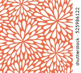 seamless vector pattern with... | Shutterstock .eps vector #525986122