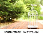 Decorative Cage With Flowers...