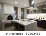 kitchen | Shutterstock . vector #52603489
