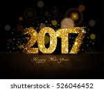 2017 happy new year | Shutterstock .eps vector #526046452