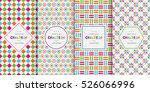 bright colorful seamless... | Shutterstock .eps vector #526066996