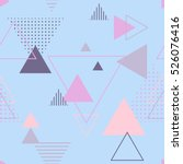 vector texture of geometric... | Shutterstock .eps vector #526076416