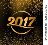 2017   calligraphic new year... | Shutterstock .eps vector #526106782