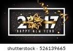 vector 2017 happy new year... | Shutterstock .eps vector #526139665