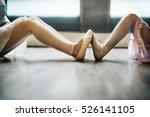 ballet dancer training school... | Shutterstock . vector #526141105