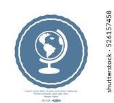 globe icon vector illustration. | Shutterstock .eps vector #526157458
