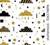 weather  sky  clouds  rain.... | Shutterstock .eps vector #526178896