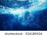 sea underwater view. beauty... | Shutterstock . vector #526180426