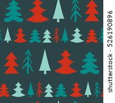 winter background with... | Shutterstock .eps vector #526190896