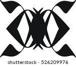 design shows the symbol for a... | Shutterstock .eps vector #526209976