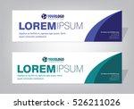 creative banner templates | Shutterstock .eps vector #526211026