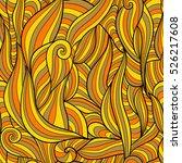 seamless vector pattern... | Shutterstock .eps vector #526217608