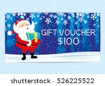 christmas and new year gift... | Shutterstock .eps vector #526225522