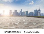 panoramic skyline and buildings ... | Shutterstock . vector #526229602