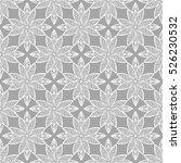arabic pattern. indian  islamic ... | Shutterstock .eps vector #526230532