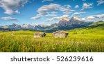 panoramic view of idyllic... | Shutterstock . vector #526239616