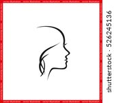 woman icon vector illustration...   Shutterstock .eps vector #526245136