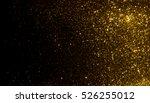 golden glitter texture... | Shutterstock . vector #526255012