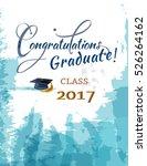 congratulations graduate for... | Shutterstock .eps vector #526264162