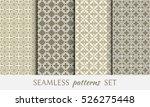 seamless geometric line...   Shutterstock .eps vector #526275448