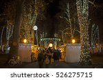 zrinjevac park decorated by...   Shutterstock . vector #526275715