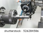 operator machining mold and die ... | Shutterstock . vector #526284586