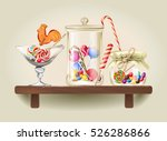 Vector Illustration Sweet Cand...