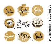 sale vector label  badge  tag ... | Shutterstock .eps vector #526288588