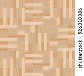 wooden parquet floor texture... | Shutterstock .eps vector #526310386