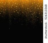 gold glitter stardust... | Shutterstock .eps vector #526313368