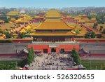 Forbidden City In Beijing From...