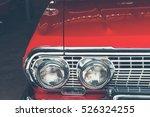 vintage us classic car | Shutterstock . vector #526324255