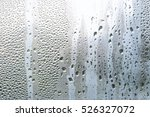 water vapor in cold glass of... | Shutterstock . vector #526327072