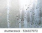water vapor in cold glass of...   Shutterstock . vector #526327072