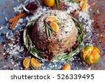 traditional english christmas...   Shutterstock . vector #526339495