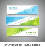 set of tree modern geometric... | Shutterstock .eps vector #526358866