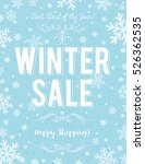 blue christmas  poster with... | Shutterstock .eps vector #526362535