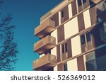 very modern apartment building... | Shutterstock . vector #526369012